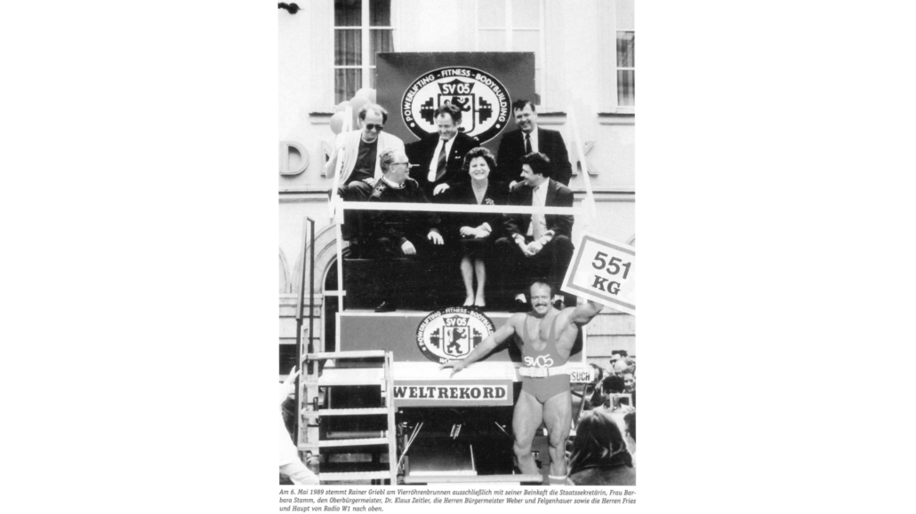 1989 - Griebl Weltrekord | SVW05